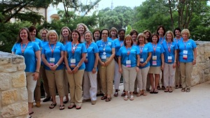 KISD School Nurses at the 2014 NASN conference in San Antonio.