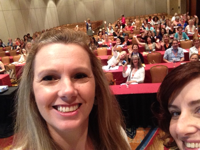Twit pic right before Yvonne and I gave our presentation on EHR's at the NASN 2014 conference.