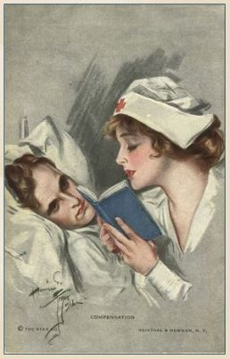 NLM Nursing postcard exhibit